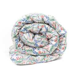 Liberty Print Duvet Set In Bell Flower