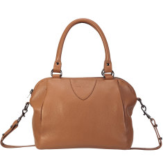 Force of Being leather bag in tan