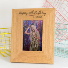 Personalised Birthday Photo Frame