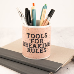 Breaking Rules Pen Pot