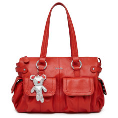 Iltutto Mia Tote Bag in Red