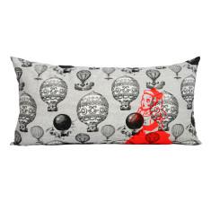 Alice in Wonderland lumbar pillow