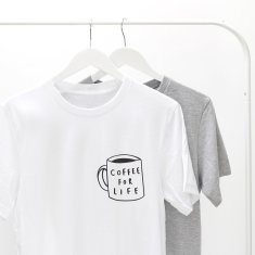 Coffee For Life Unisex T Shirt