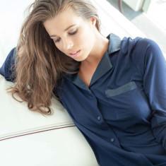 Silk Trim Modal Nightdress