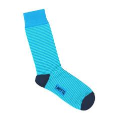 Lafitte blue thin stripe socks