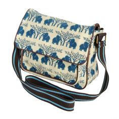 Tamelia cotton canvas Ellie satchel