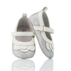 Baby Elsa pre-walker shoes