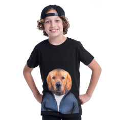 Retriever dog kid's tee