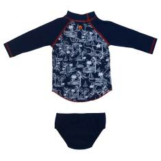 Nautical Baby Suntop Set
