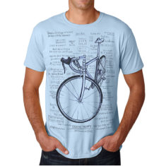 Cognitive therapy men's t-shirt in light blue