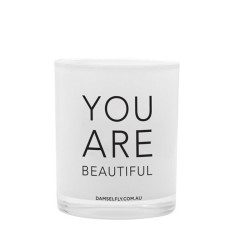You Are Beautiful Candle