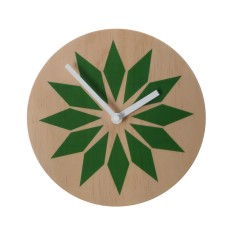 Objectify emerald wall clock