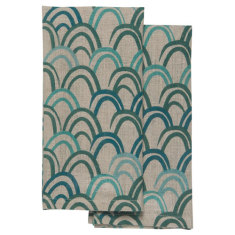 Emerald city napkins (set of 4)