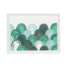Emerald city bathroom tray