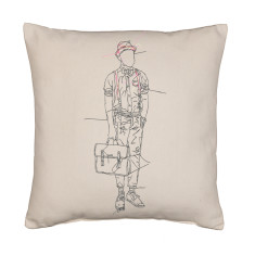Daper man cushion