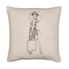 Deco shopper cushion