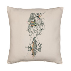 NY bike lovers cushion