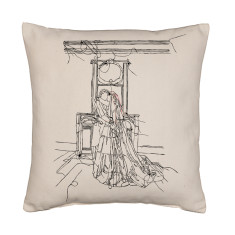Wedding couple cushion