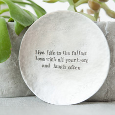 Live Love Laugh Trinket Dish