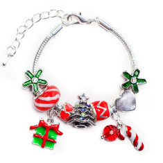 Children's Christmas charm bracelet