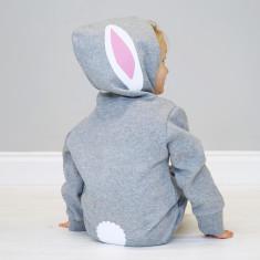 Bunny Rabbit With Ears Baby Onesie