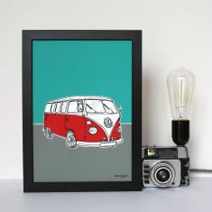 Personalised Camper Van Print