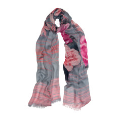 Rose dust luxe scarf