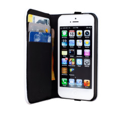 Enki iPhone 5 stash wallet with bonus zip earphone
