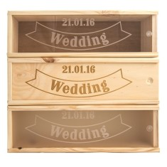 Wedding Banner Wine Box