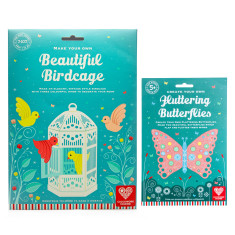 Bird And Butterfly Activity Set