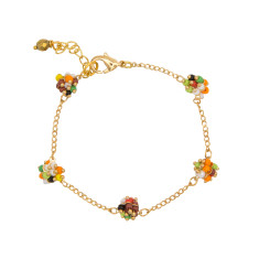 Autumn berry bracelet