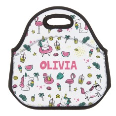Personalised Neoprene Lunch Bag - Summer Party