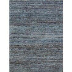 Banaras blue hand woven rug