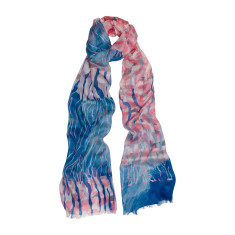 Water marks luxe scarf