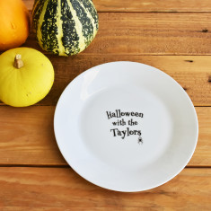 Halloween With The… Personalised Side Plate