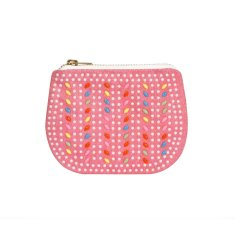 Mini play purse in coral pink