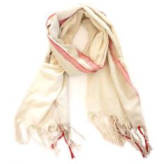 Raw silk scarf/wrap/towel