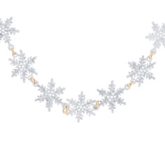 Multi Snowflakes Necklace