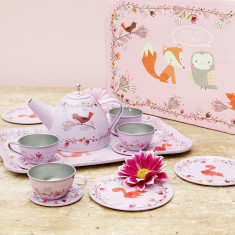Personalised Kids' Tea Party Set