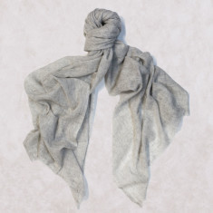 Cashmere Scarf in Creme
