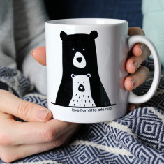 Bear Mummy/Daddy And Me, Personalised Mug