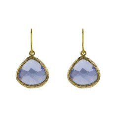 Blue dusk earrings