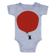 Balloon Onesie - Grey