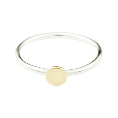 Circle stackable ring