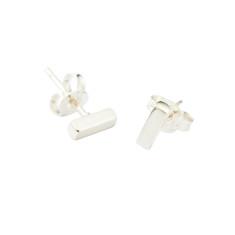 Bar studs earrings
