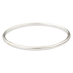 Silver thread ring