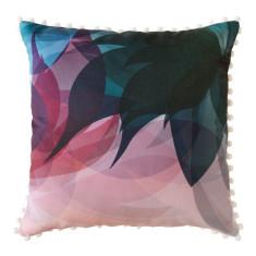 Pastel Blossom Pom Pom Cushion