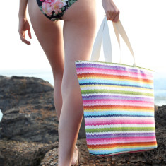Surfers Paradise beach tote