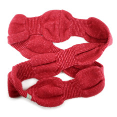 Bubble up wool angora snood