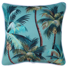 Outdoor cushion in palm trees lagoon (various sizes)